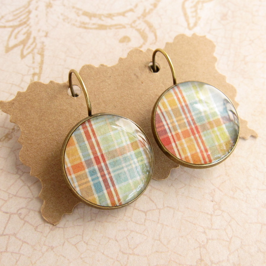 products vici resin earrings grey havasu